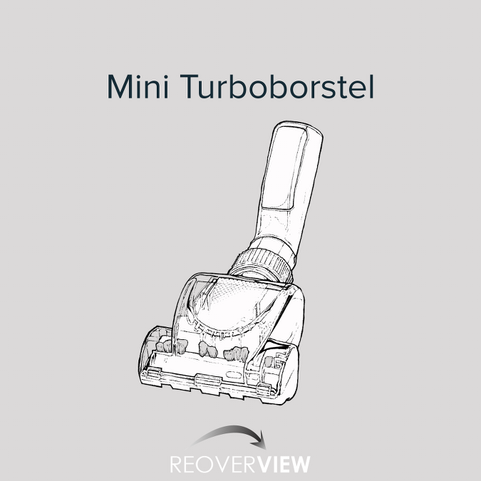 Mini-Turbo zuigborstel